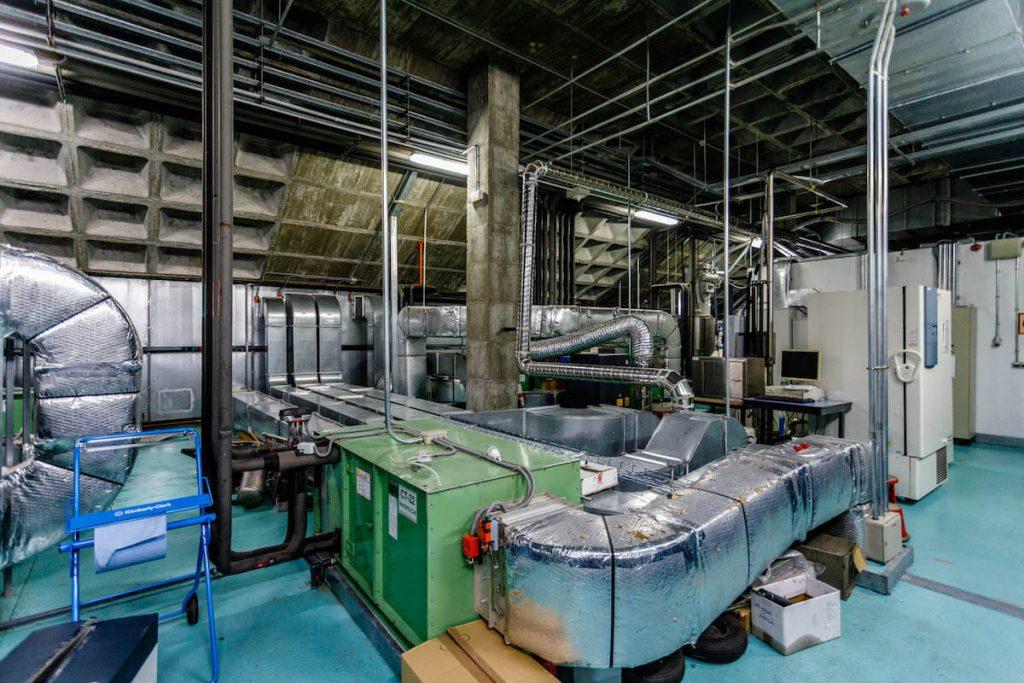 Sistema de climatización en interior de industria 1