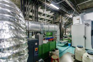 Sistema de climatización en interior de industria 05
