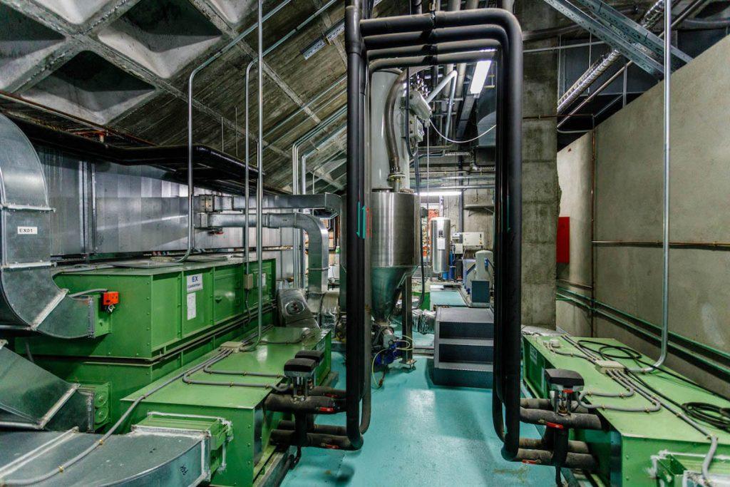 Sistema de climatización en interior de industria 07