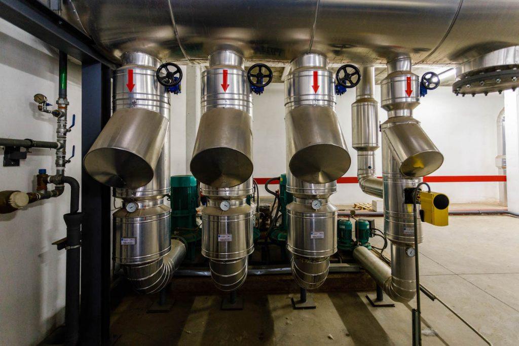 Sistema de climatización en interior de industria 19