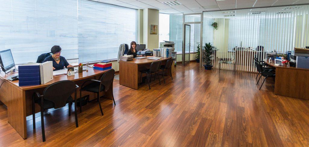 Zona de oficinas de Interclima