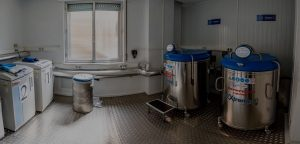 Interior sala hospital