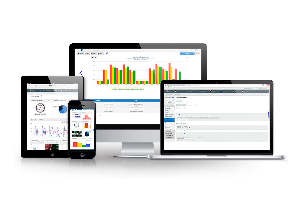 Software SEINON para monitorización de consumos energéticos