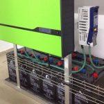 Inversor y baterías para instalación autoconsumo edificio
