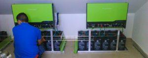 Inversores y baterías para instalación autoconsumo edificio