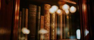 Fondo lomo libros antiguos
