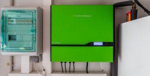 Inversor para fotovoltaica + aerotermia en domicilio particular