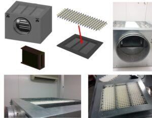 """CISCO2. Prototipo 02 """"Beatriz"""" para ensayos con productos sólidos"""