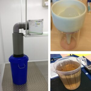 "CISCO2. Prototipo 03 ""Carmina"" para ensayo básico con residuo líquido (descartado)"